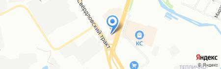 Билайн на карте Челябинска