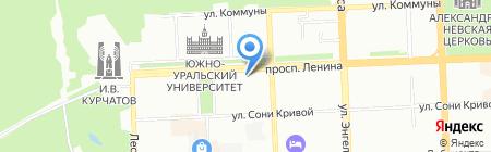 Прогрессив Групп на карте Челябинска