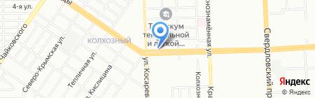 Альянс 74 на карте Челябинска
