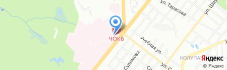 Почтовое отделение №76 на карте Челябинска