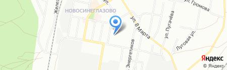 АльфаСтрахование-ОМС на карте Челябинска