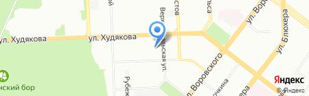 Детский сад №84 на карте Челябинска