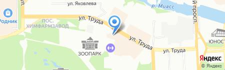 Franke на карте Челябинска