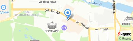 Смальта-Студио на карте Челябинска
