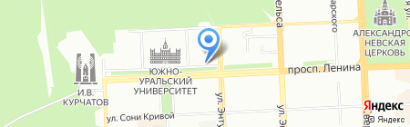 Ювелирная мастерская на проспекте Ленина на карте Челябинска