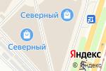 Схема проезда до компании Дипломат в Челябинске
