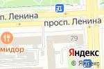 Схема проезда до компании Родина в Челябинске