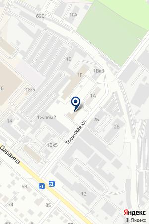 2 ПОЖАРНАЯ ЧАСТЬ (2ПЧ) на карте Челябинска
