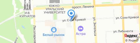 AFFITTO на карте Челябинска