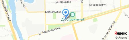 Бетомикс на карте Челябинска
