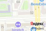 Схема проезда до компании Комус в Челябинске