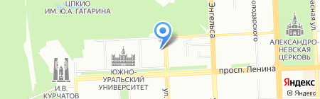 Матисс на карте Челябинска