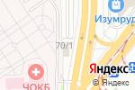 Схема проезда до компании ВИП в Челябинске