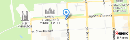Swen tour на карте Челябинска