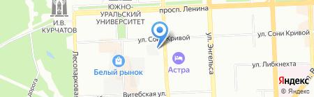 Производственная фирма на карте Челябинска