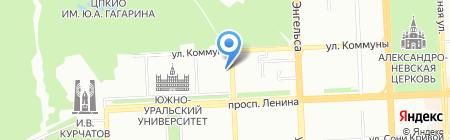 ВекторФинанс на карте Челябинска