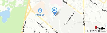 Пожарная часть №2 Советского района на карте Челябинска