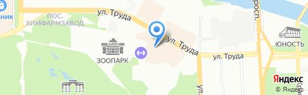 On-line на карте Челябинска