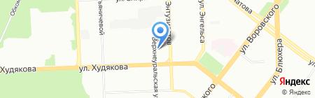Рифея-Стиль на карте Челябинска