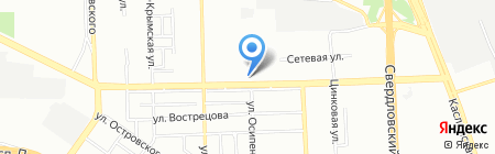 Трансмехсервис на карте Челябинска