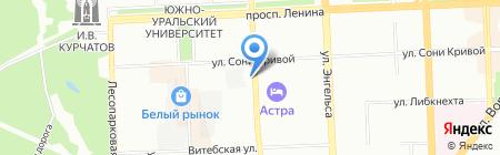 Строительный Альянс Монолит на карте Челябинска