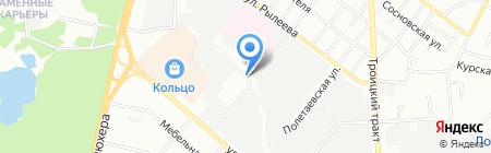 Южуралтеплострой на карте Челябинска