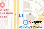 Схема проезда до компании Время цветов в Челябинске