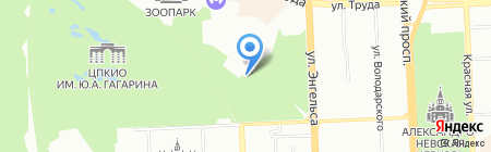 Полигон-174 на карте Челябинска