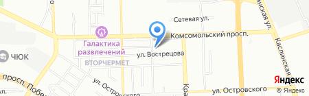 УРАЛТОРГ на карте Челябинска