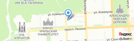 Урал-принт на карте Челябинска