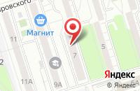Схема проезда до компании Уралстальмонтаж в Челябинске