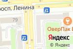 Схема проезда до компании Студия ногтевого сервиса Анны Азаровой в Челябинске
