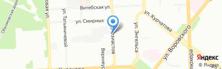 УБпластик на карте Челябинска