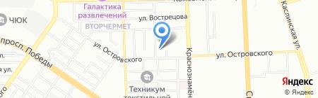 Кровельная компания на карте Челябинска