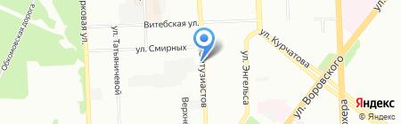 Алмазные системы на карте Челябинска