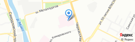 Медицинская лаборатория на карте Челябинска