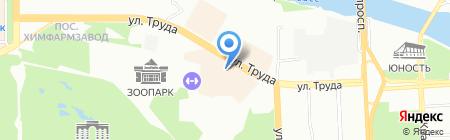 АЗС Лукойл на карте Челябинска