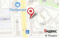 Схема проезда до компании Тория в Челябинске