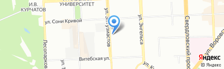 Талисман на карте Челябинска
