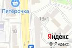 Схема проезда до компании Юнита в Челябинске
