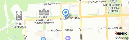 Детский сад №194 для детей с аллергопатологией на карте Челябинска