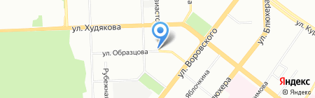 Русский взгляд Урал на карте Челябинска