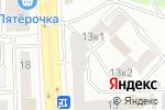 Схема проезда до компании Южная Корона в Челябинске