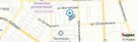 UCDF-Capoeira на карте Челябинска