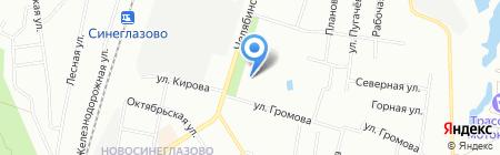 Антураж на карте Челябинска
