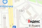 Схема проезда до компании КПО-Маркет в Челябинске