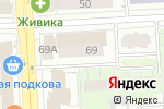 Схема проезда до компании Семья в Челябинске