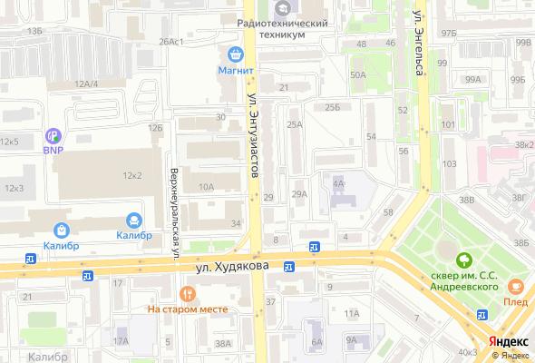 жилой комплекс Вцентре74 (дом на Энтузиастов)