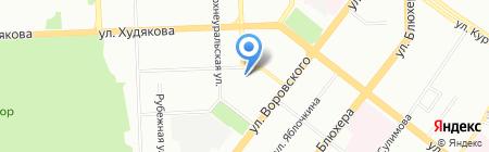 Евгений Еремеев и партнеры на карте Челябинска