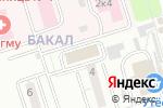 Схема проезда до компании Алекс в Челябинске